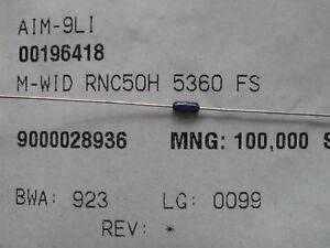 100-x-M-Widerstand-RNC50H5260FS-536Ohm-Widerstaende