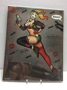 HARLEY-QUINN-034-Harley-Girl-034-VARIANT-500-Signed-Print-by-Nathan-Szerdy-BAM-BOX