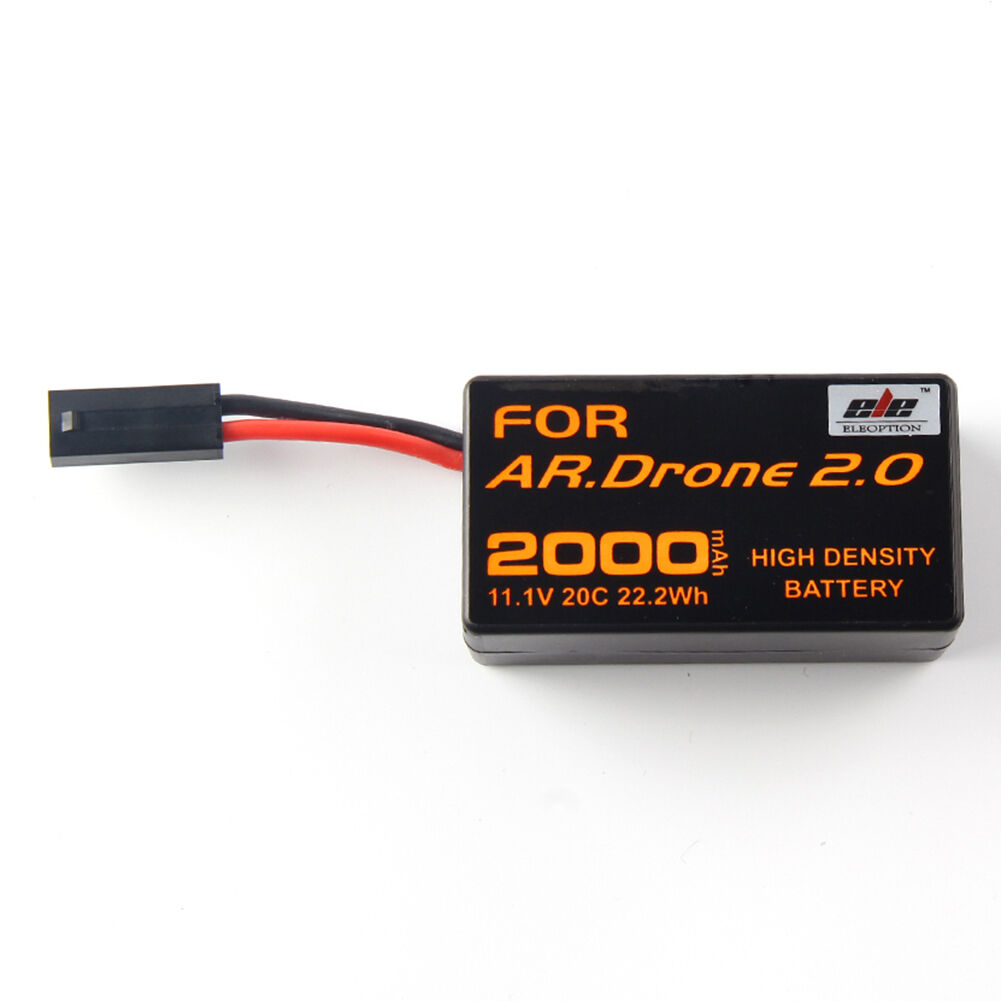 2Pcs 2000mAh High Density Rechargeable Rechargeable Rechargeable Battery For Aircraft Parred AR.Drone 2.0 00fb4e