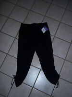 Xersion Black Yoga Pants Fitted Performancewear Fitness Exercise Size S/ch