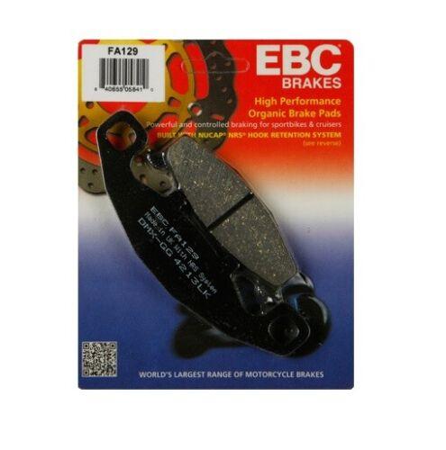 Front for Kawasaki Ninja 500R 1994-2009 EBC Sport Carbon X Brake Pad