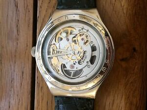 SWATCH-Irony-STAINLESS-STEEL-SWISS-MADE-OROLOGIO