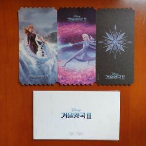 Disney Frozen2 Korea Mega Box Original Cinema Limited Movie Ticket Special Book Ebay