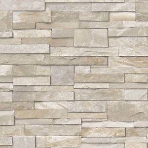 Image Is Loading Vinyl Split Face Tile Stone Brick Effect