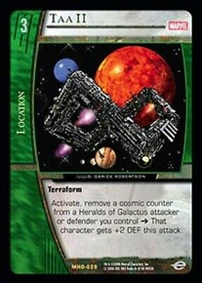 Acolyte Marvel Heralds of Galactus TCG CCG Classic Played VS System: Barnacle
