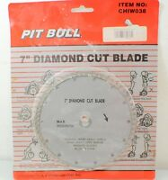 Pit Bull 7 Diamond Cut Blade