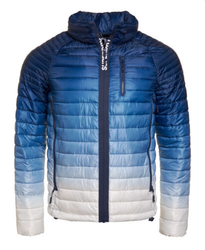 New Mens Superdry Power Fade Jacket Ink