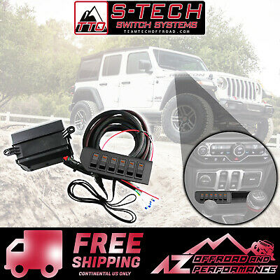 S-Tech Switch Pod System with relay center fits Universal//Truck//SUV//Car//UTV
