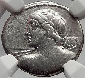 Roman-Republic-84BC-Rome-VEJOVIS-Minerva-CHARIOT-Ancient-Silver-Coin-NGC-i61945