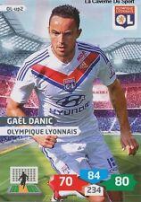 OL-UP02 GAEL DANIC # OLYMPIQUE LYONNAIS CARD ADRENALYN FOOT 2014 PANINI