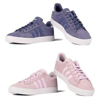 Adidas Daily 2.0 Sneakers Damenschuhe Sport Rosa Violett   eBay