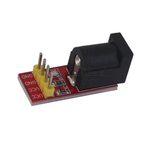 2PCS 5.5mmx 2.1mm 5.5x2.1mm DC Jack Socket Power Supply Adapter Module f//Arduino