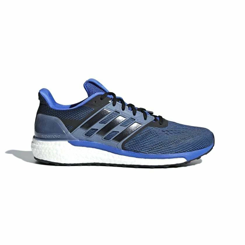 Adidas Supernova Men's Running Shoes Sneakers High Res Blue/Core Black/Steel