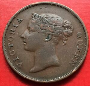 Straits-East-India-Company-Victoria-One-Cent-1862-2