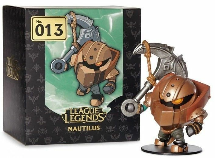 NIB - Riot giocos League of Legends Nautilus 6 6 6  Collectible Figurine 6d8972