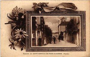 CPA Souvenir de St-GERVAIS-les-Trois-Clochers (255778)
