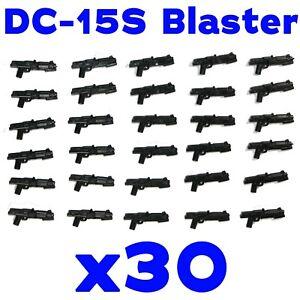 LEGO-Star-Wars-Guns-DC-15S-Clone-Trooper-Blaster-Rifle-Rebel-Storm-Weapon-30-Pk
