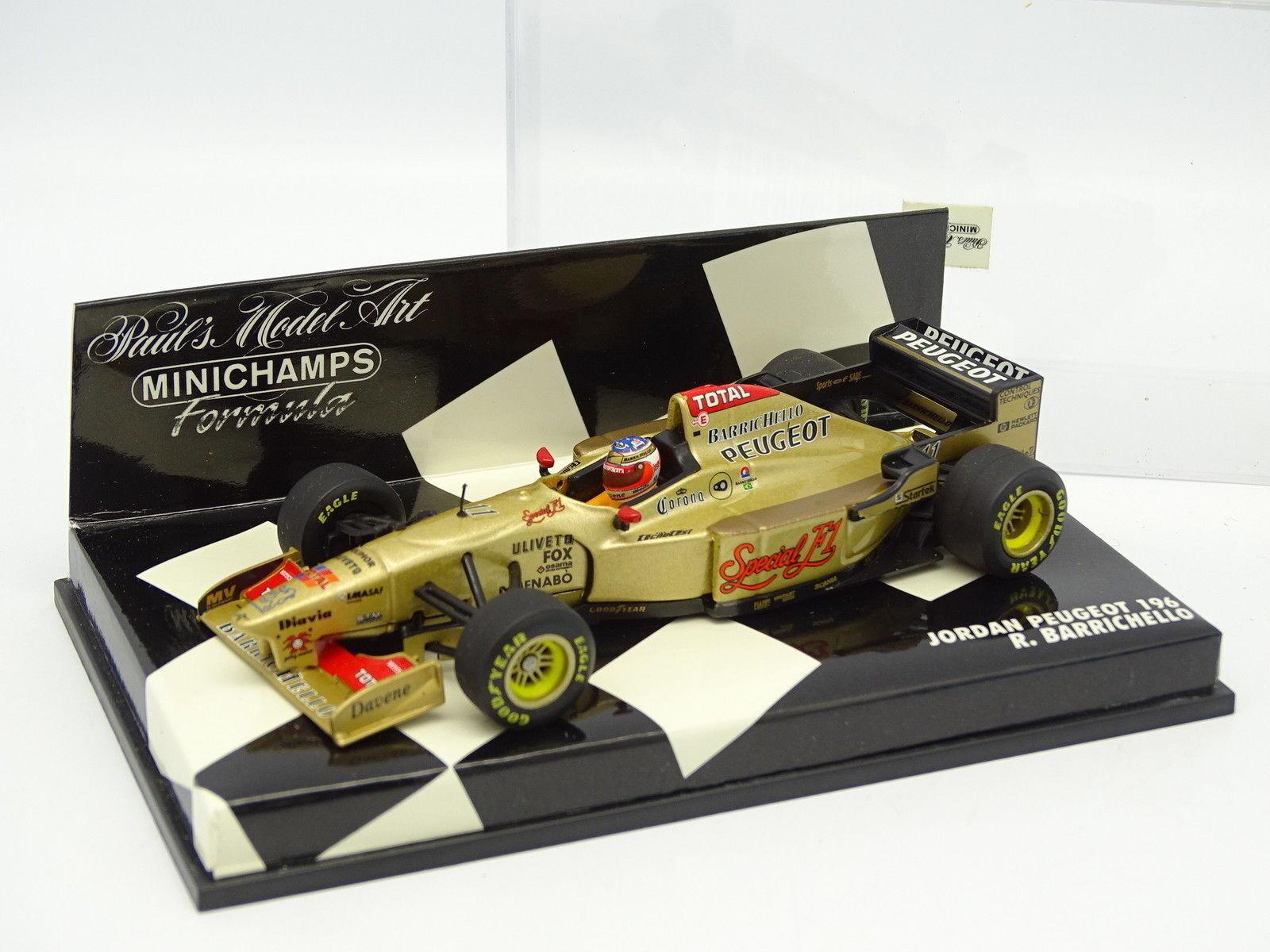 Minichamps 1 43 - F1 Jordan Peugeot 196 Barrichello