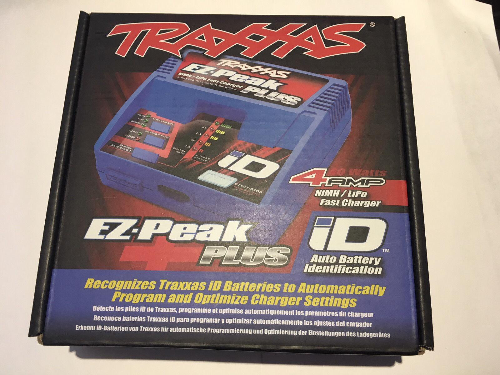 Traxxas EZ-Peak 4Amp Nimh lipo Reino Unido Plus Cargador de especificaciones