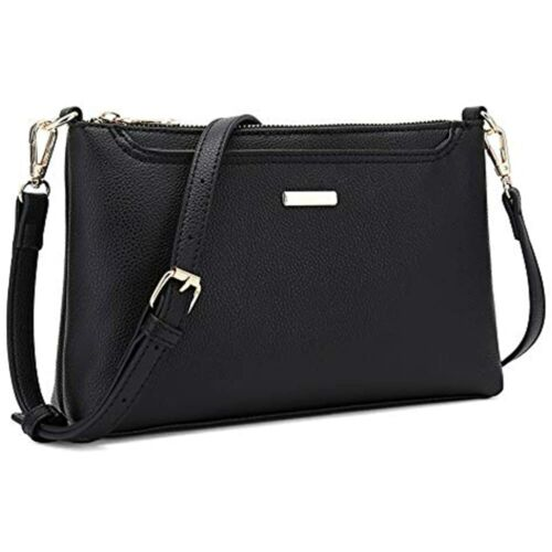 Black Lightweight Shoulder Bag With CATMICOO Small Crossbody Purses Women