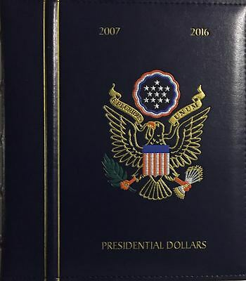 "LIGHTHOUSE ALBUM AND CASE NEW DELUXE PRESIDENTIAL DOLLARS /""P /& D/"" 2007-2016"