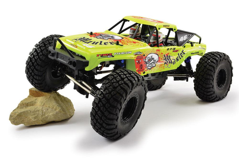 FTX Mauler (Amarillo) 4X4 Rock Crawler cepillado 1 10 listo para correr RC coche FTX5575Y