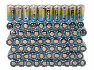Lot of 10 Alkaline Batteries 4LR44 6V 476A For Dog Collar Anti-bark Dressage