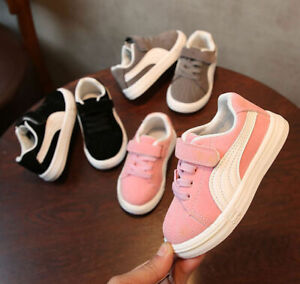 52c33b05be6b43 Das Bild wird geladen 2019-Neu-Maedchen-Jungen-Kinder-Schuhe-Sportschuhe- Sneakers-