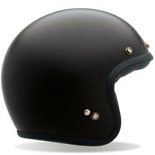 Bell Custom 500 Matte Black 3/4 Cruiser Motorcycle Helmet XL NIB