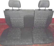 AUDI A3 8L 96-03 TDI 20V SPORT 3DR INTERIOR REAR BENCH SEAT GREY CHEQUER CLOTH
