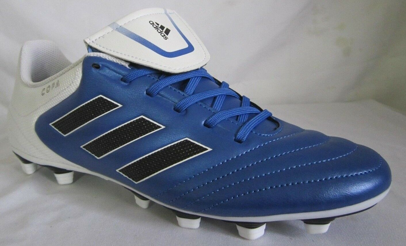 Adidas Copa 17- 4 FxG bluee Cleats Men Soccer shoes 8.5