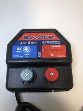 Blitzer Easm Bl Low Impedance 110 Volt Ac Electric Fence Controller 5 Mile