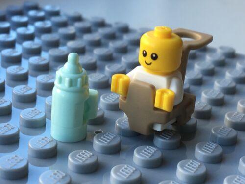 Carrier: 3 Colours Bottle NEW LEGO Baby Minifigure baby shower infant Ergo