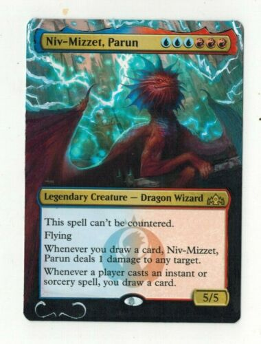 Niv-Mizzet Parun Altered Full Art Extended MTG Magic Commander EDH Birthday Gift