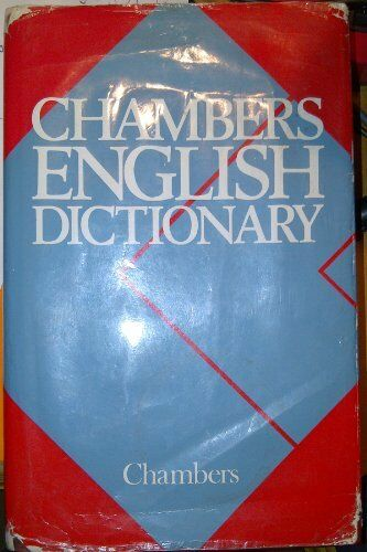 Chambers English Dictionary,Catherine Schwarz- 9780550102508