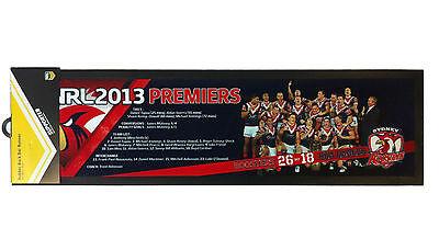 Sydney Roosters 2013 NRL Premiers Team Bar Runner BNWT