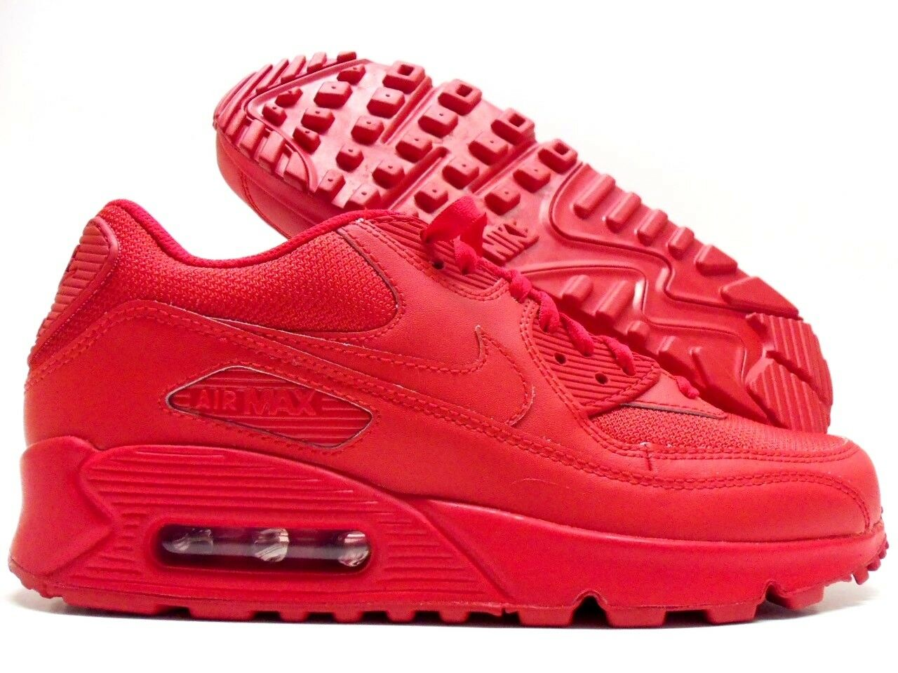 Nike air max 90 id / ottobre rosso / id bianco, rosso come sport maschile 12 844a5d