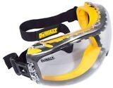 Gafas de seguridad antiniebla DeWalt DPG82-11 lente transparente, doble molde