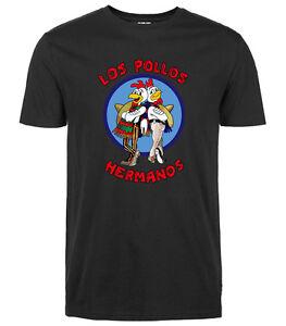 2017-Funny-Men-Women-Los-Pollos-Hermanos-Shirt-Breaking-Bad-T-Shirt-Science