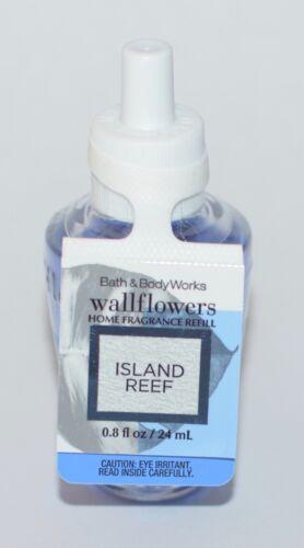 1 BATH /& BODY WORKS ISLAND REEF WALLFLOWER FRAGRANCE REFILL BULB PLUG FRESHENER