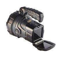 Led Multipurpose Weatherproof Solar Rechargeable Handheld Search Light Spotlight