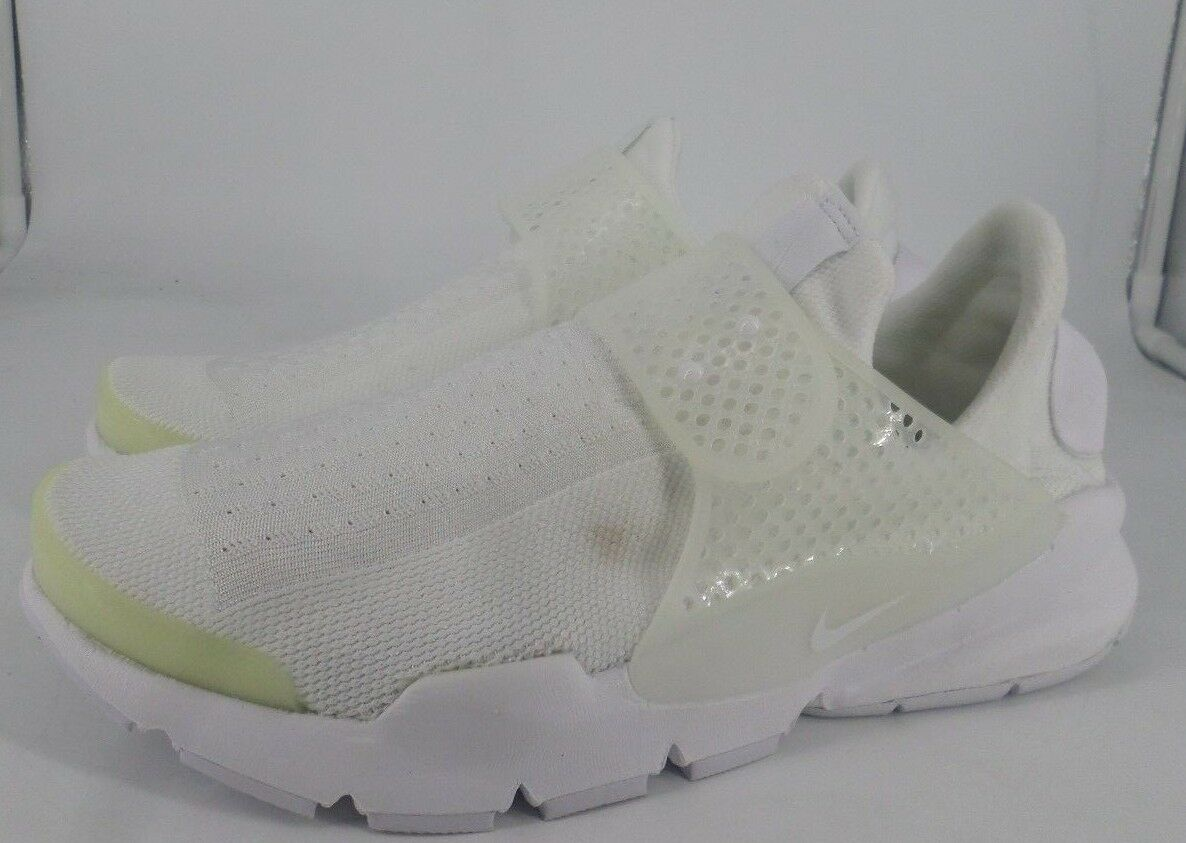 Nike Mens Sock Dart Trainers White Size NH05 24 SALEx