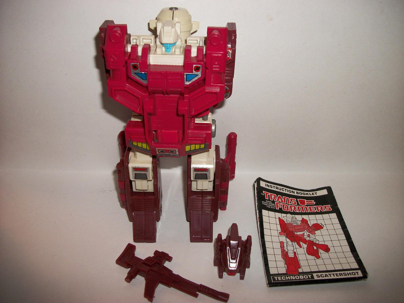 Transformers G1 Takara Hasbro Original Robot Figure Scattershot