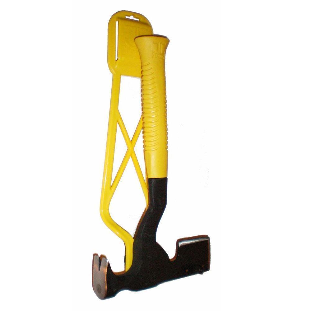 Magnetic Hatchet Hammer Easy Holder Home Stucco Roof shingles Drywall Hand Tool