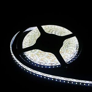 5m smd led selbstklebend wasserdicht ip65 leiste strip 600. Black Bedroom Furniture Sets. Home Design Ideas