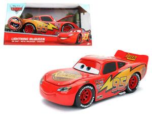 jada toys disney pixar cars movie lightning mcqueen 1 24 98099 red