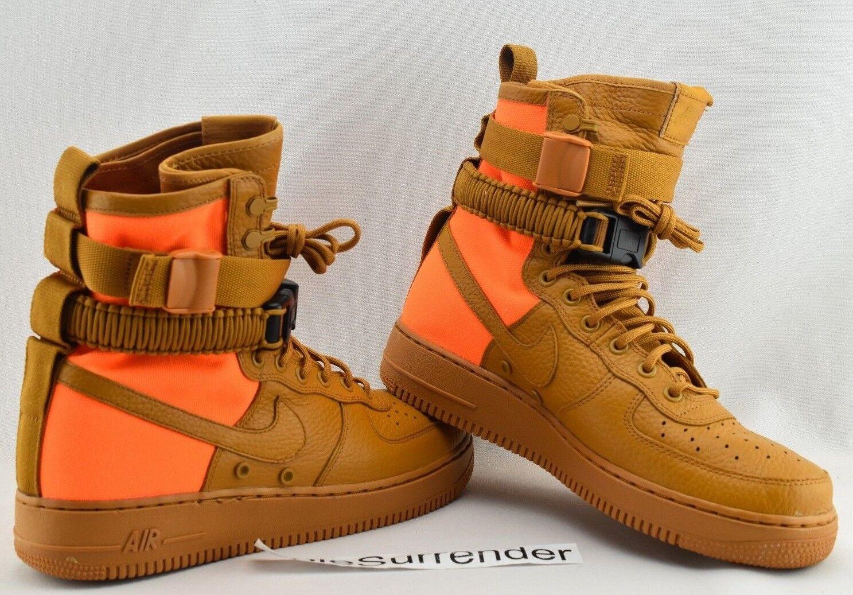 low priced 78592 70822 Nike SF AF1 QS - SIZE 5 - 903270-778 Special Field 1 orange Tan