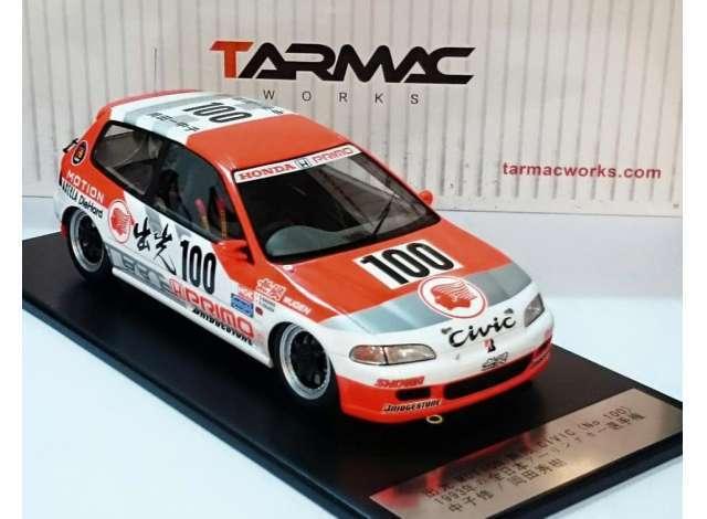 1 18 Tarmac Works Honda Civic EG6 Idemitsu motion  100 Gr A Racing NEW T01IM