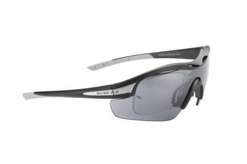 Swisseye Novena S RX Noir /& Gris Lunettes de soleil de sport-Printemps spécial