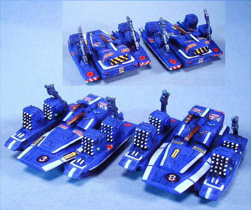 Battletech suitable painted  Reign of Fire Heavy tanks  (2) Unique